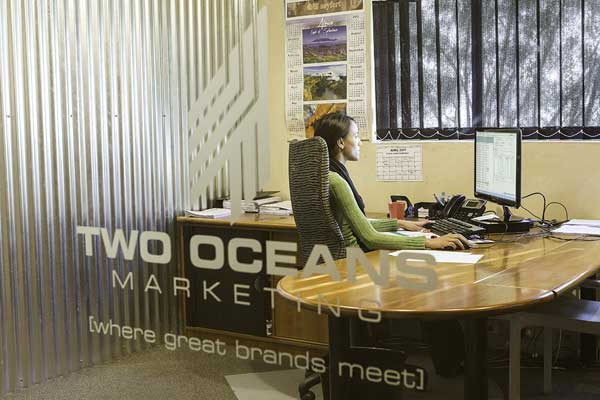 marketing and distribution - Two Oceans Marketing